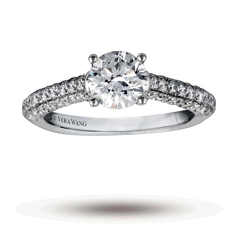 Vera Wang Wedding Rings.Vera Wang Love Bridal Jewellery Collection Now Available In The Uk