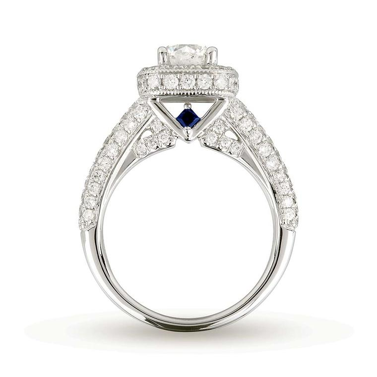 verawanggoldsmithsbridal010 the vera wang love engagement ring - Vera Wang Wedding Ring