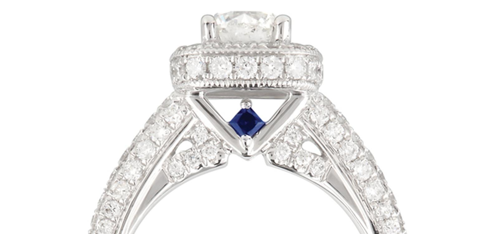 Wedding Ring Sapphire