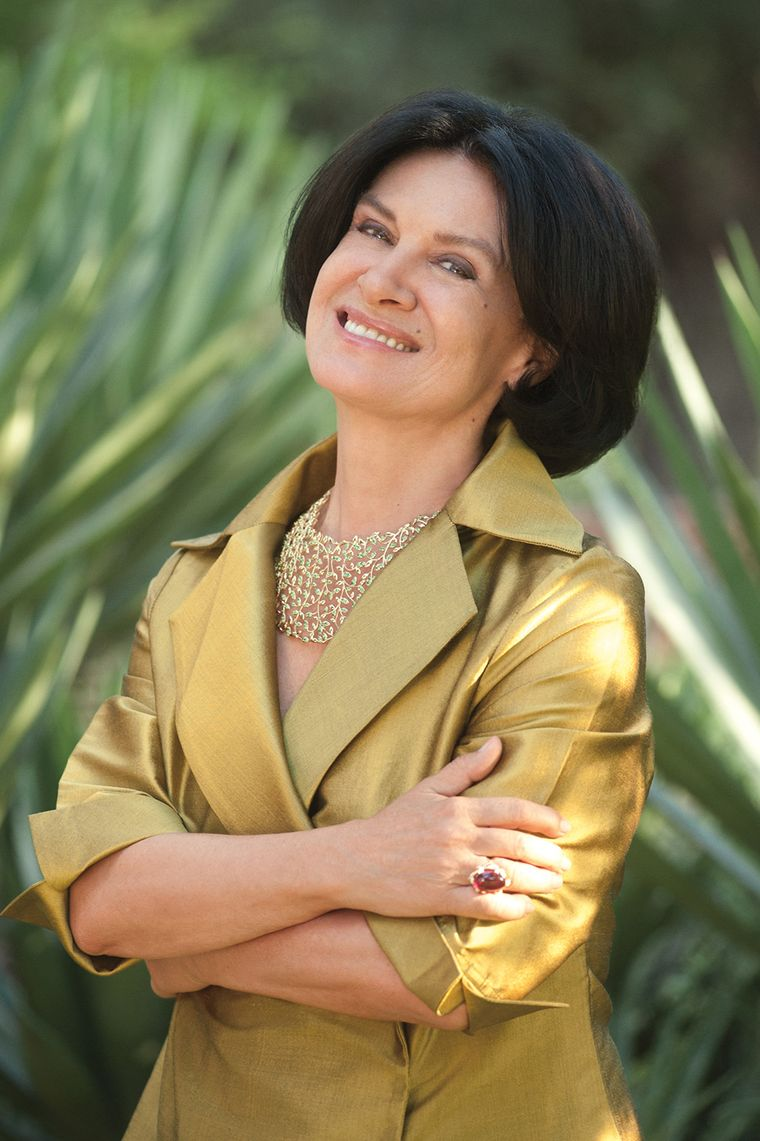 Paloma Picasso Creates An Exuberant New Olive Leaf