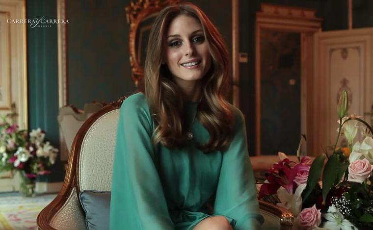 Exclusive to The Jewellery Editor: an interview with Olivia Palermo for Carrera y Carrera