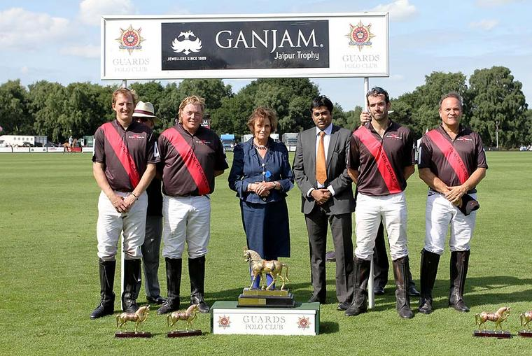 Indian jeweller Ganjam hosts its annual royal polo match in the UK