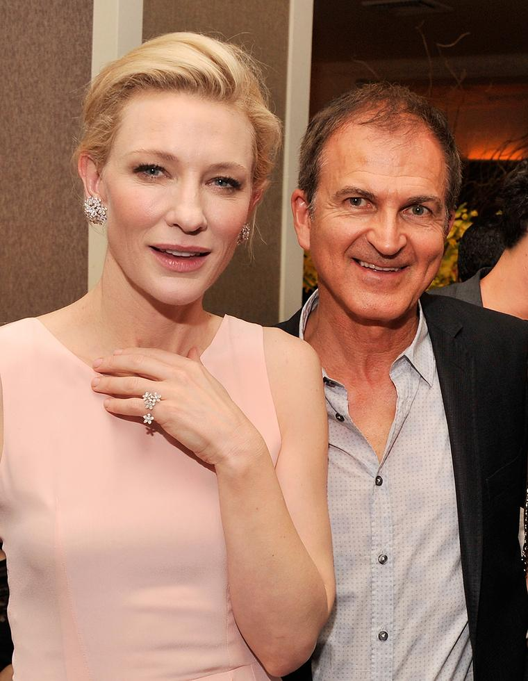286ea0499191d Cate Blanchett dazzles in Van Cleef   Arpels at her latest film ...