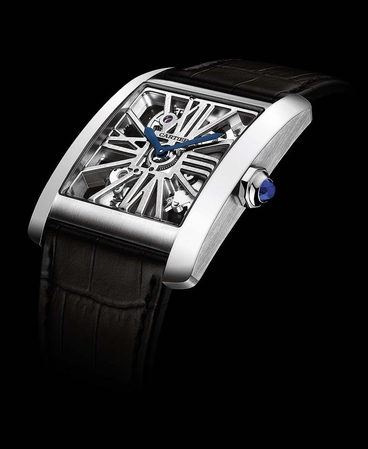 Cartier Tank In House Movement