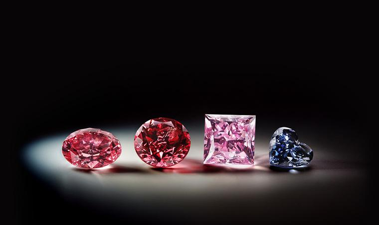 Rio Tinto showcases some of the rarest coloured diamonds in the world in Tokyo