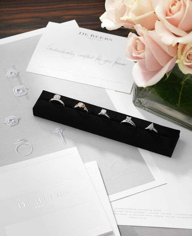 Exclusive new For You Forever engagement ring service at De Beers