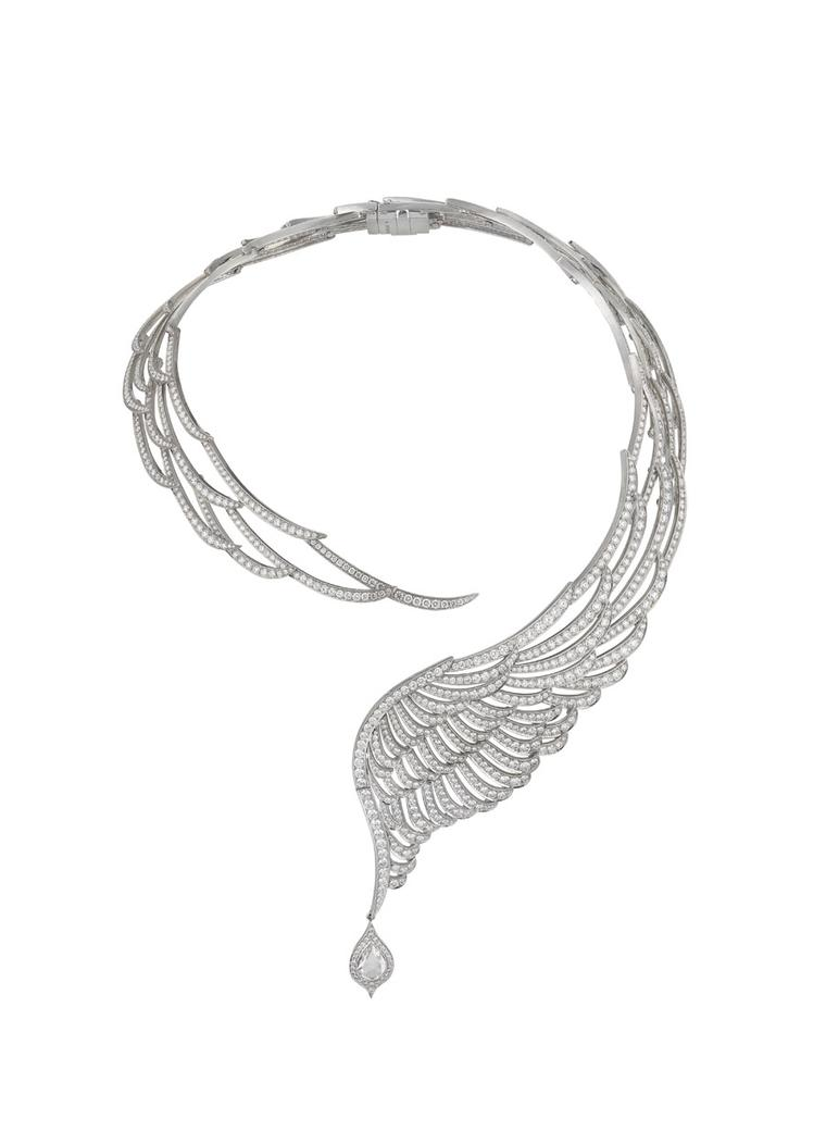 Garrard celebrates 10 years of its ethereal Wings collection with a new series of feathered jewellery