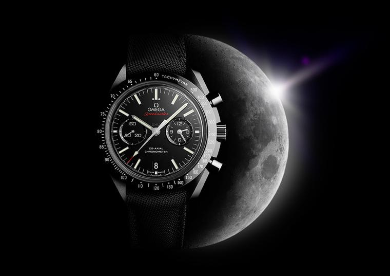 OMEGA orbits the dark side of the moon with its latest models for men