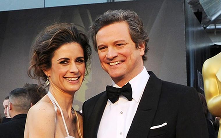 Mr & Mrs Colin Firth at 2011 Oscars