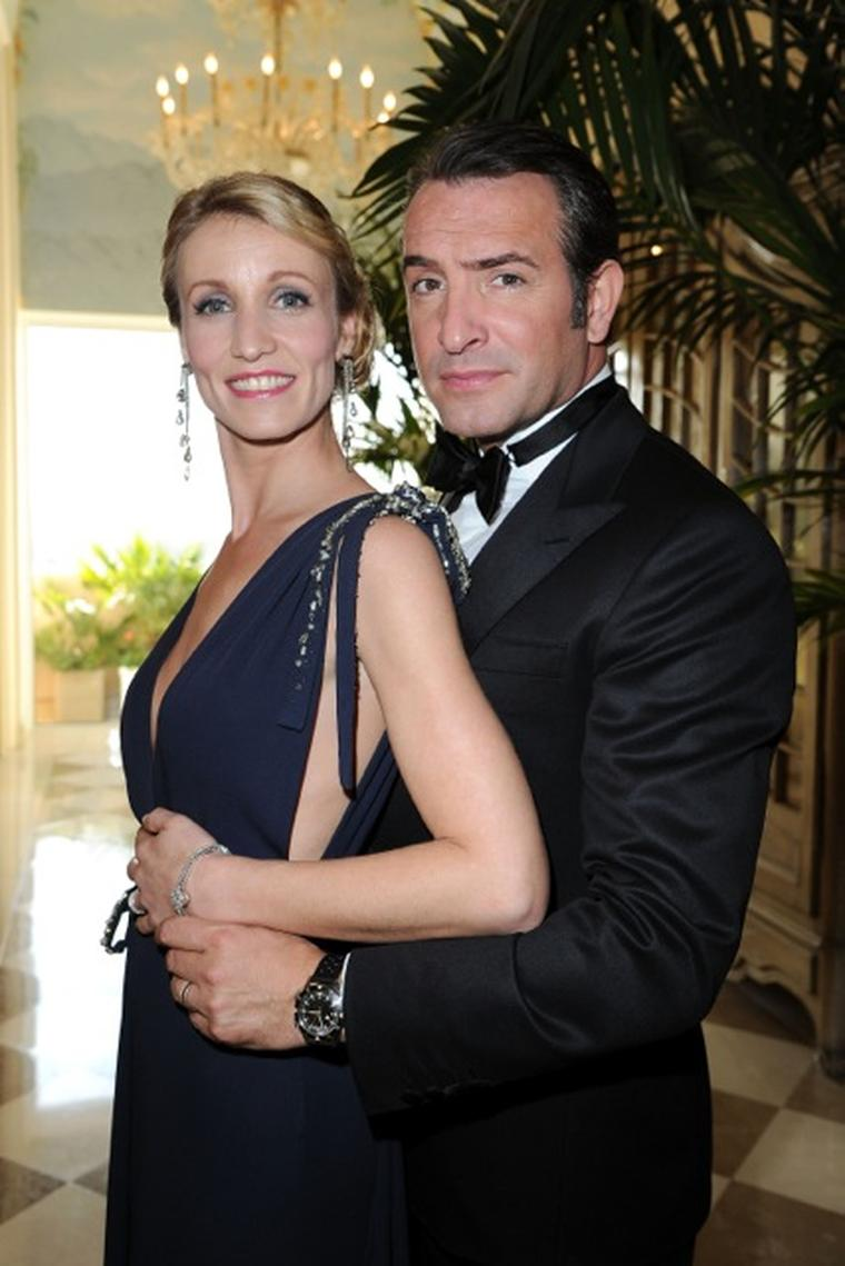 Oscars 2012 and who wore what at the 84th academy awards for Dujardin lamy