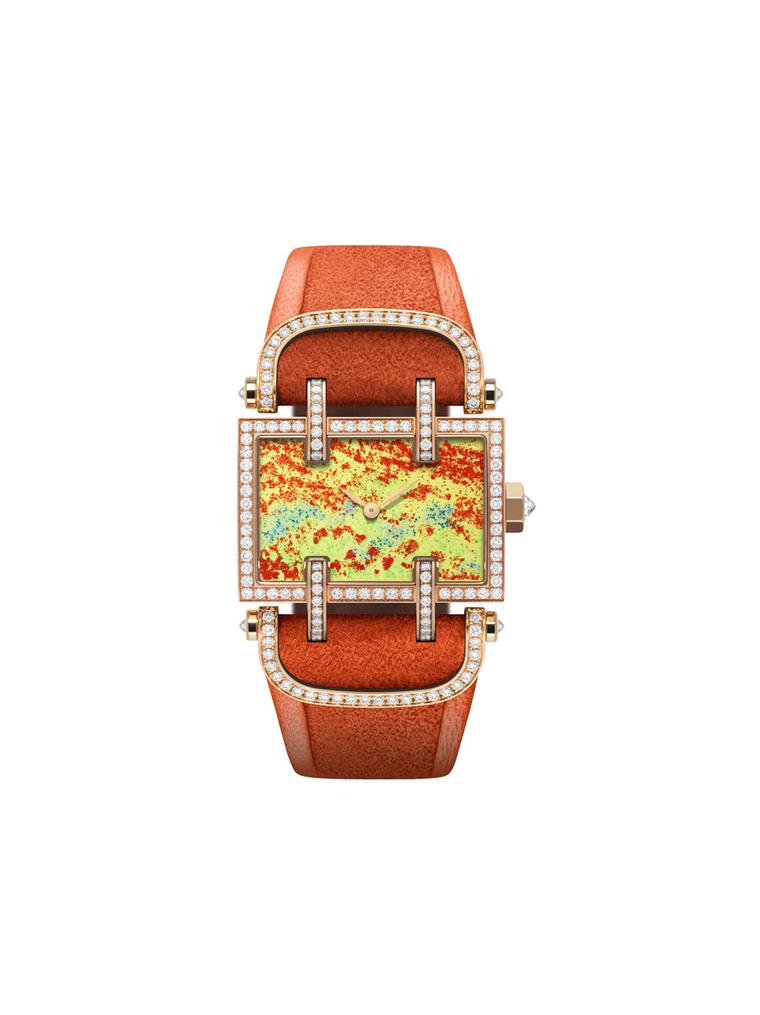 The new Flower Fields collection of one off watches by DeLaneau
