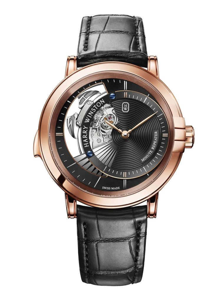 Harry Winston unveils four impressive new timepieces