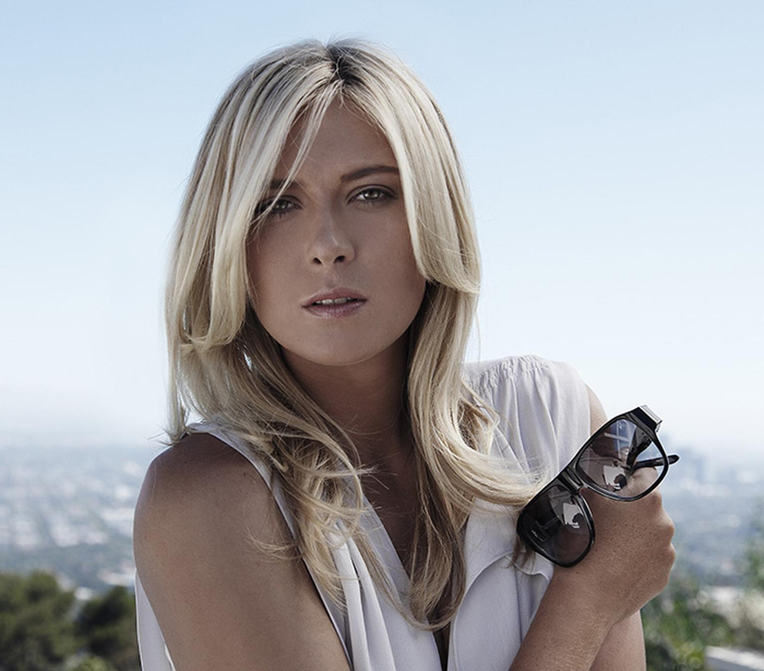 TAG Heuer faces: Maria Sharapova