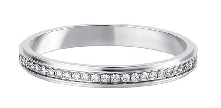 Cartier engagement rings designed to capture the thrill of saying cartier damour wedding ring platinum paved with brilliant cut diamonds junglespirit Choice Image