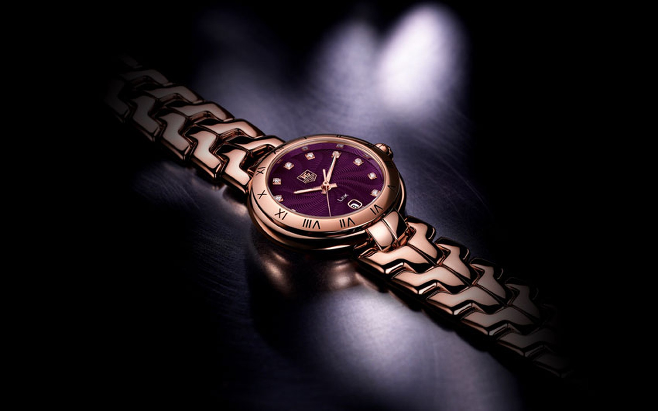 Tag Heuer Link Rose Gold