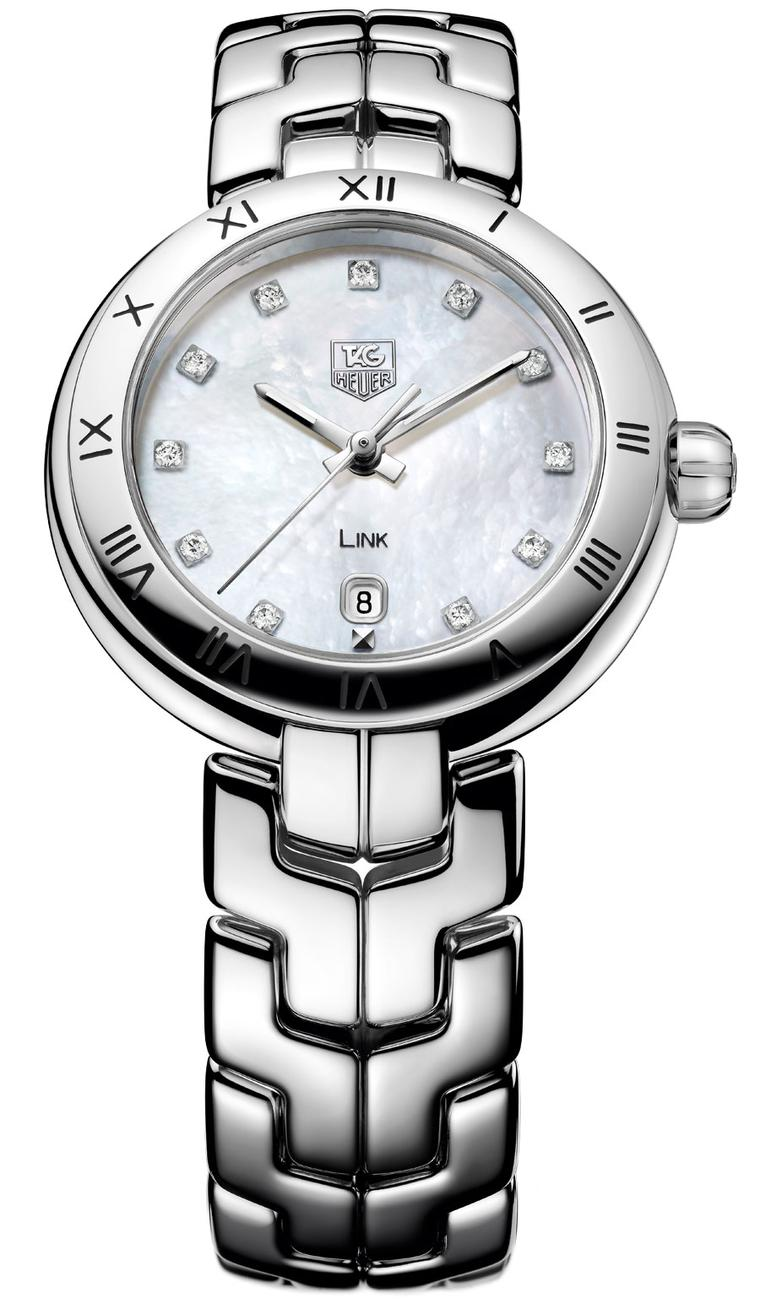 Tag Heuer Link Lady with Pearly Dial