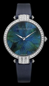Harry Winston show off their new Premier Feather watches at Baselworld 2012