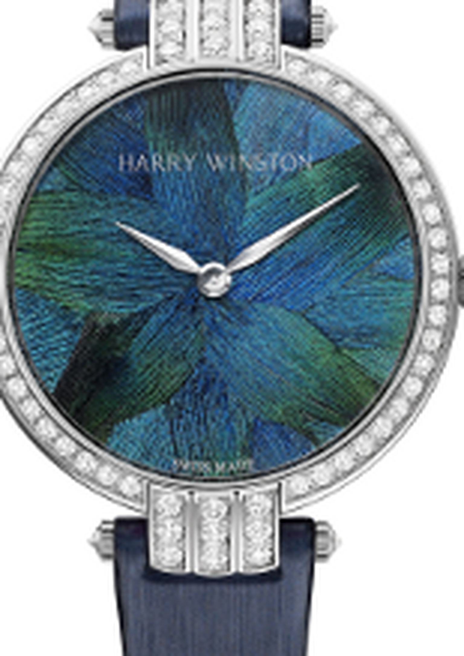 Harry Winston - premium feather watch baselword 2012 home