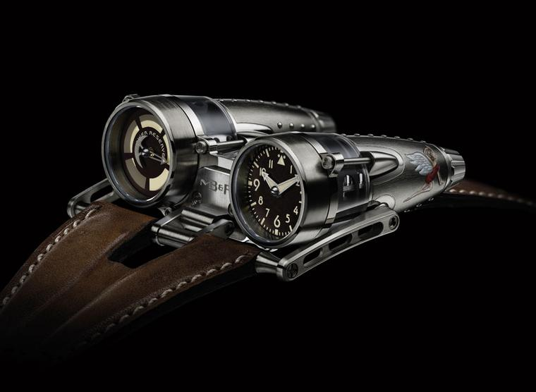 Hi-Tech and High Design men's watches at Baselworld 2012