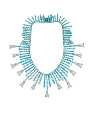 The colours of the ocean trickle through new jewellery collections from Tiffany and Co