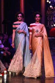 Gem Palace jewels spotted on the ramp at Lakme India Fashion Week 2013