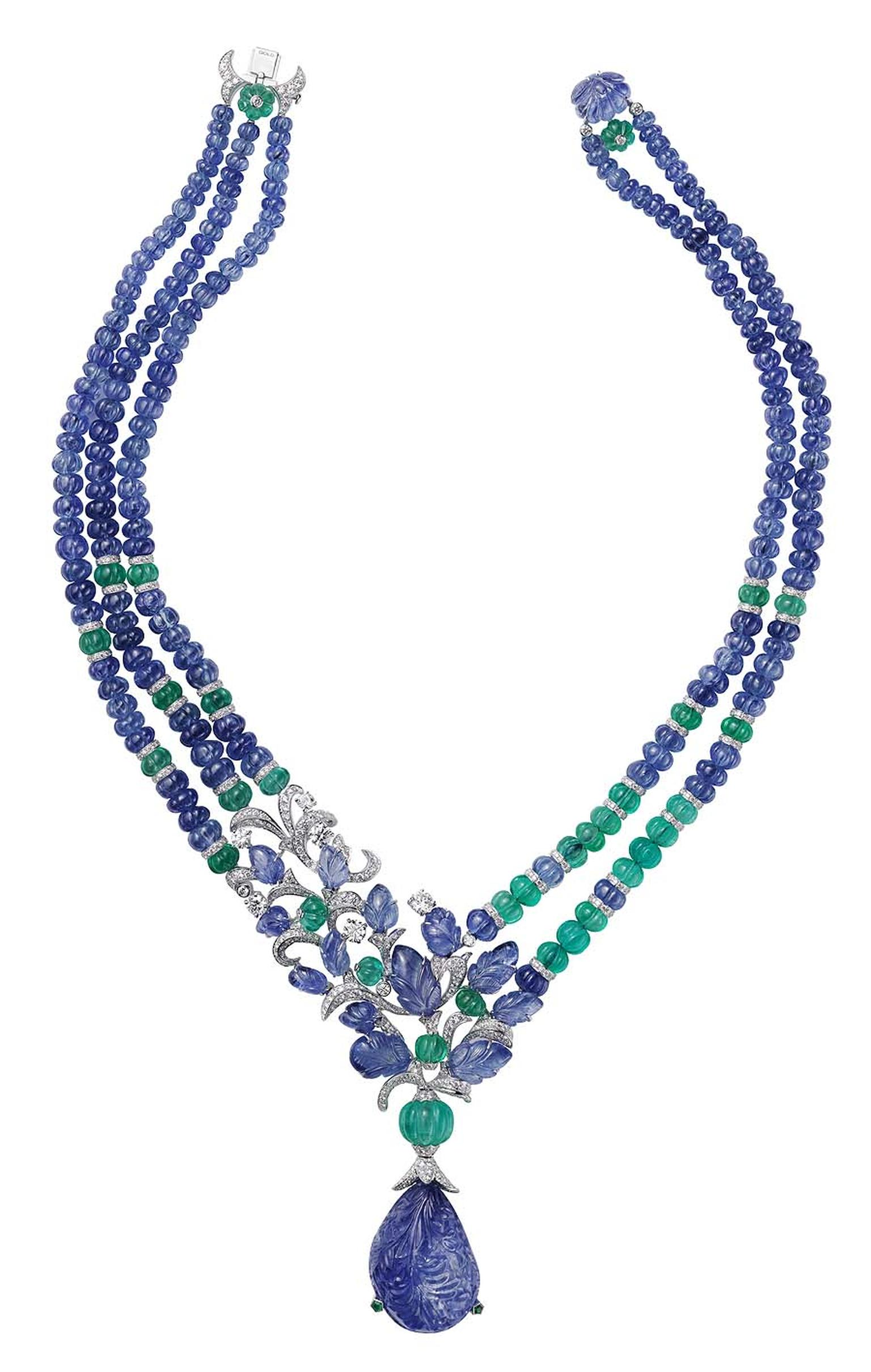L'Odyssée de Cartier Parcours d'un Style 'India' 'high jewellery necklace
