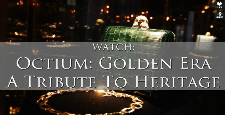 Maria Doulton attends the European launch of Octium jewellery in our video exclusive
