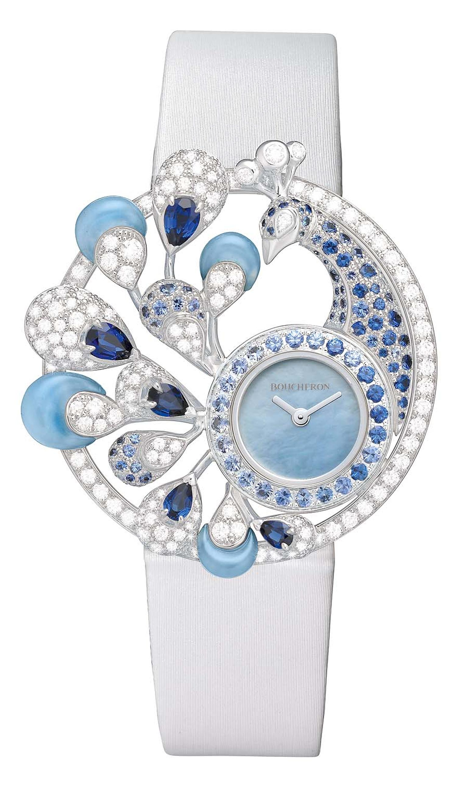 Boucheron Ajourée Héra jewellery watch, shortlisted for the Jewellery Watch award.