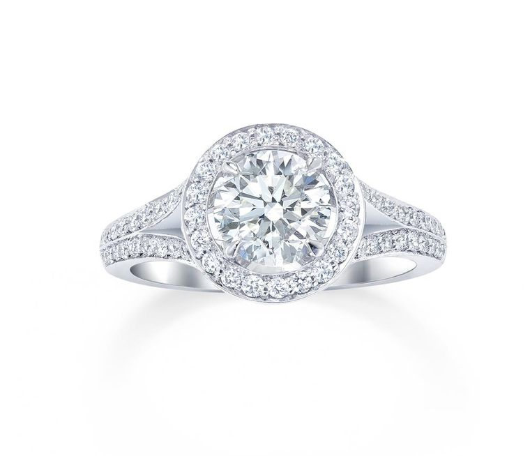 The Engagement Rings In The New Bridal Collection From Mappin Amp Webb Are Named After Classic