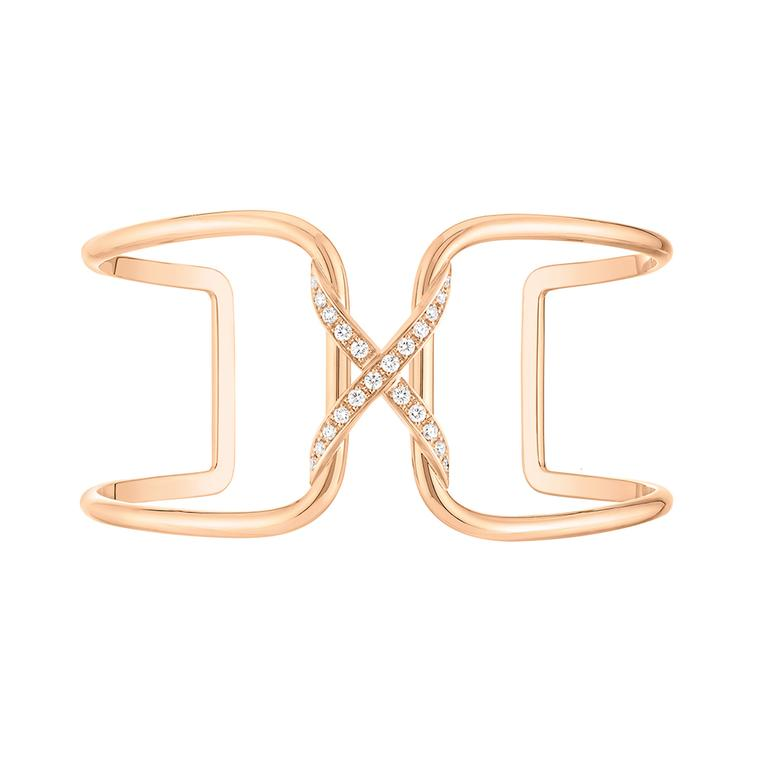 Chaumet gives its iconic cross motif a fresh new look with its latest collection of Liens jewels