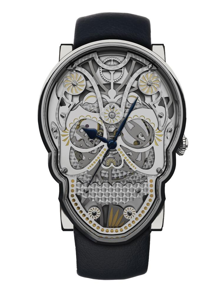 Fiona Kruger is shaking things up in the traditional world of watchmaking with her Skull watch