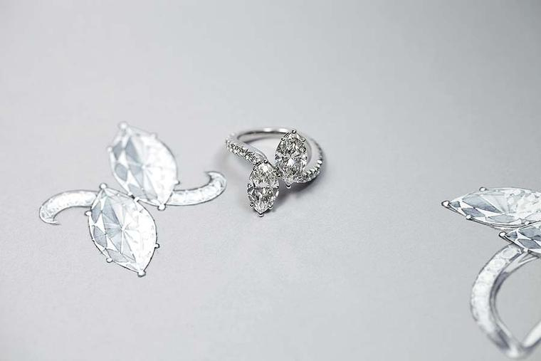 The new bespoke Ultimate Bridal Collection service at Harry Winston