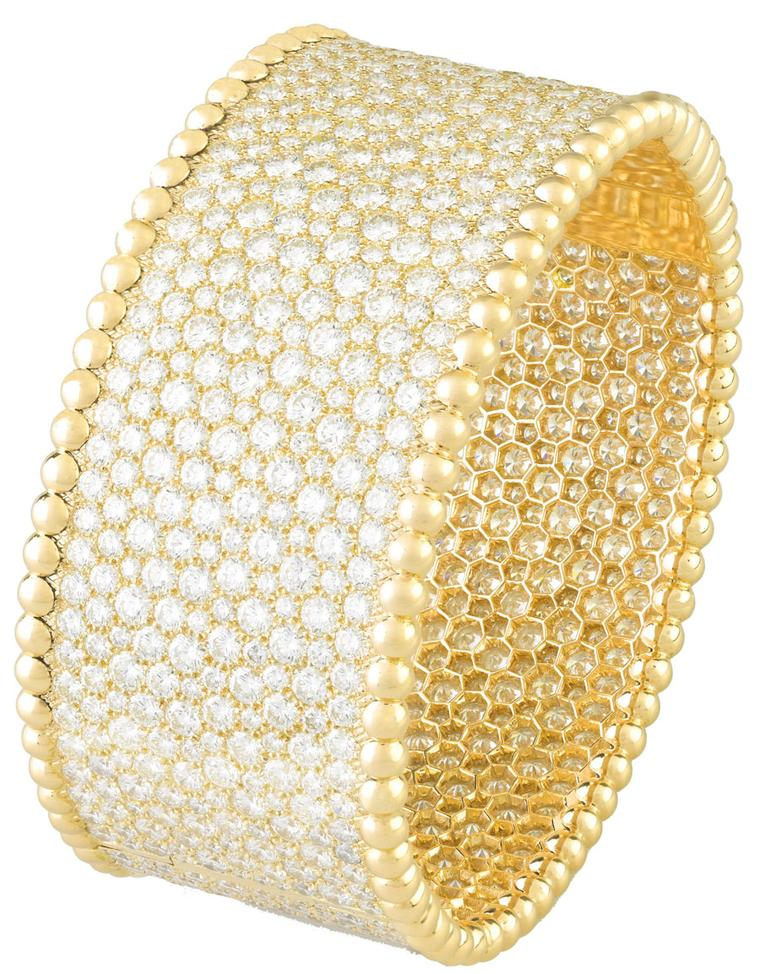 New Perlee jewels from Van Cleef and Arpels shine in yellow gold