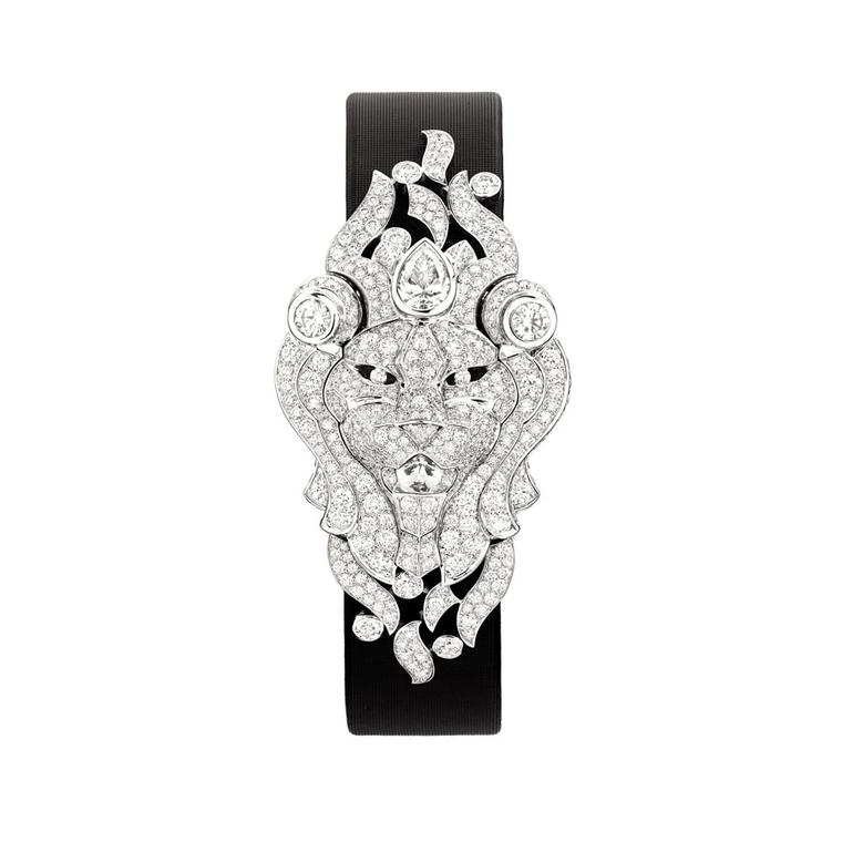 The diamond set watches that roar in the Sous le Signe du Lion high jewellery collection from Chanel
