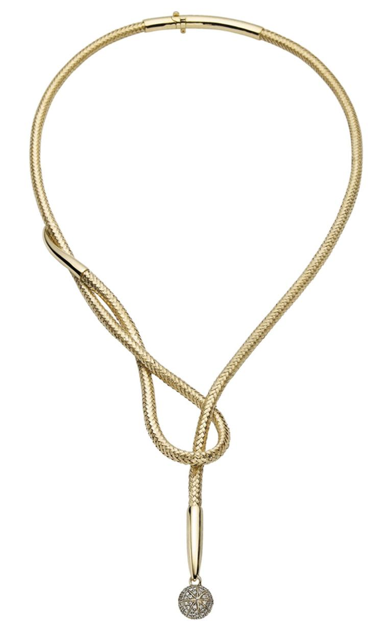 H SternCopernicus-necklace---malleable-yellow-gold-and-diamonds. £7,200