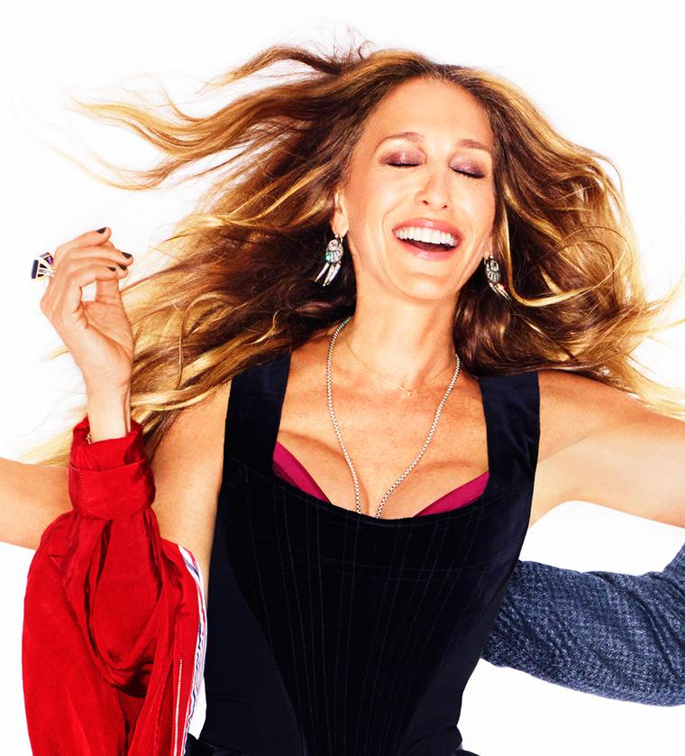 Sarah Jessica Parker wears Alexandra Mor rings in new magazine
