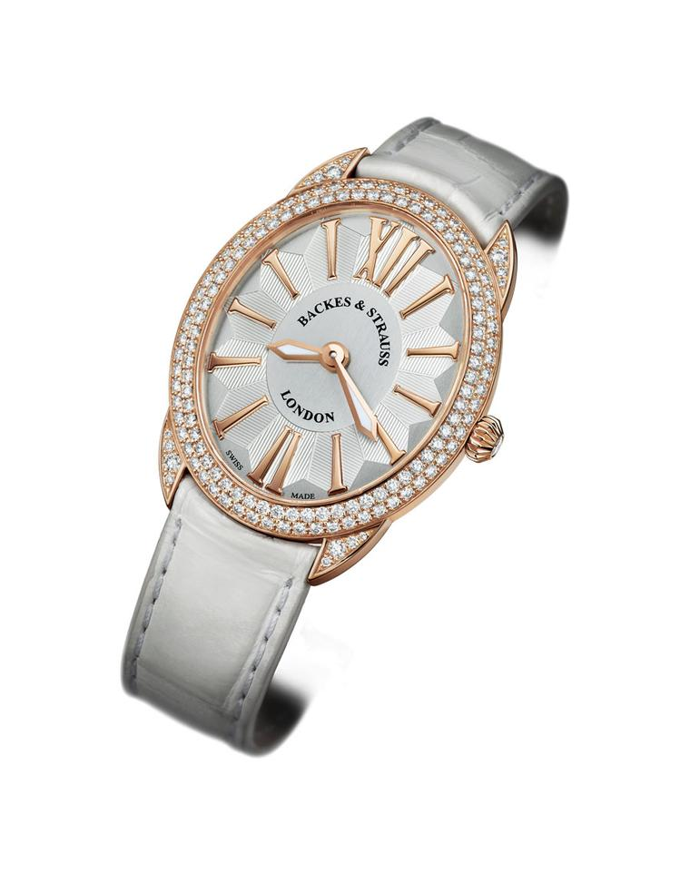 The ultra slim Renaissance watches by Backes & Strauss are a feat of gem setting and watchmaking