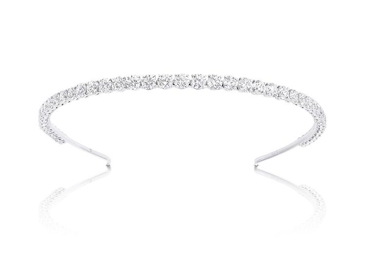 Graff Diamonds Alice band featuring 39 round diamonds totalling 47.32ct.
