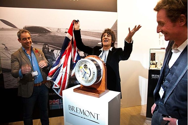A certain Rolling Stone turned up to the 2011 event. Ronnie Wood was there to launch a collection of clocks he had designed in collaboration with the British watch brand Bremont.