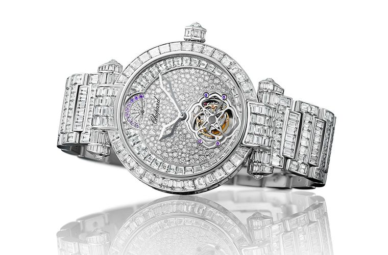 Chopard Imperiale Tourbillon Full Set ladies' watch.