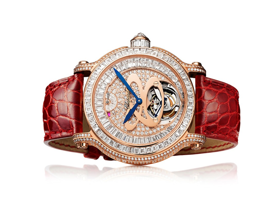 Chopard L.U.C Tourbillon Lady watch.