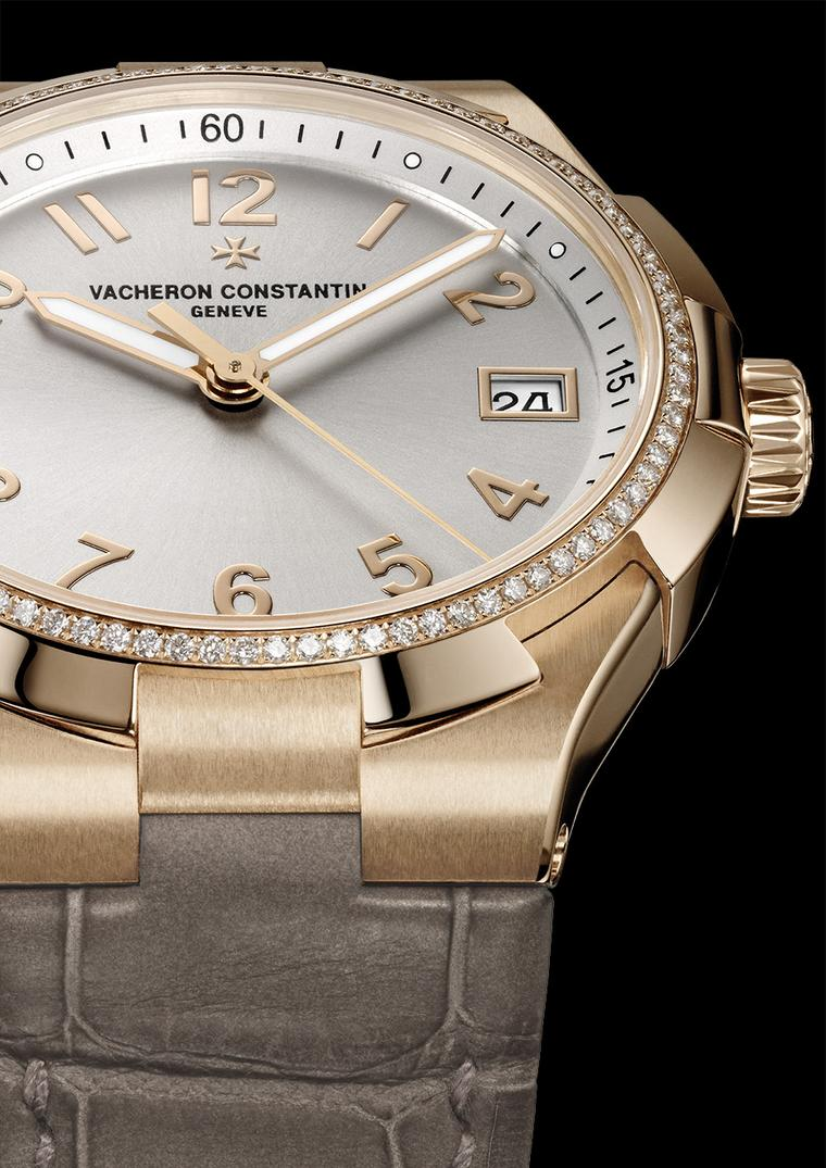 Vacheron Constantin Overseas Lady date automatic watches for women