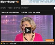 Maria Doulton makes her TV debut on Sky News and Bloomberg TV