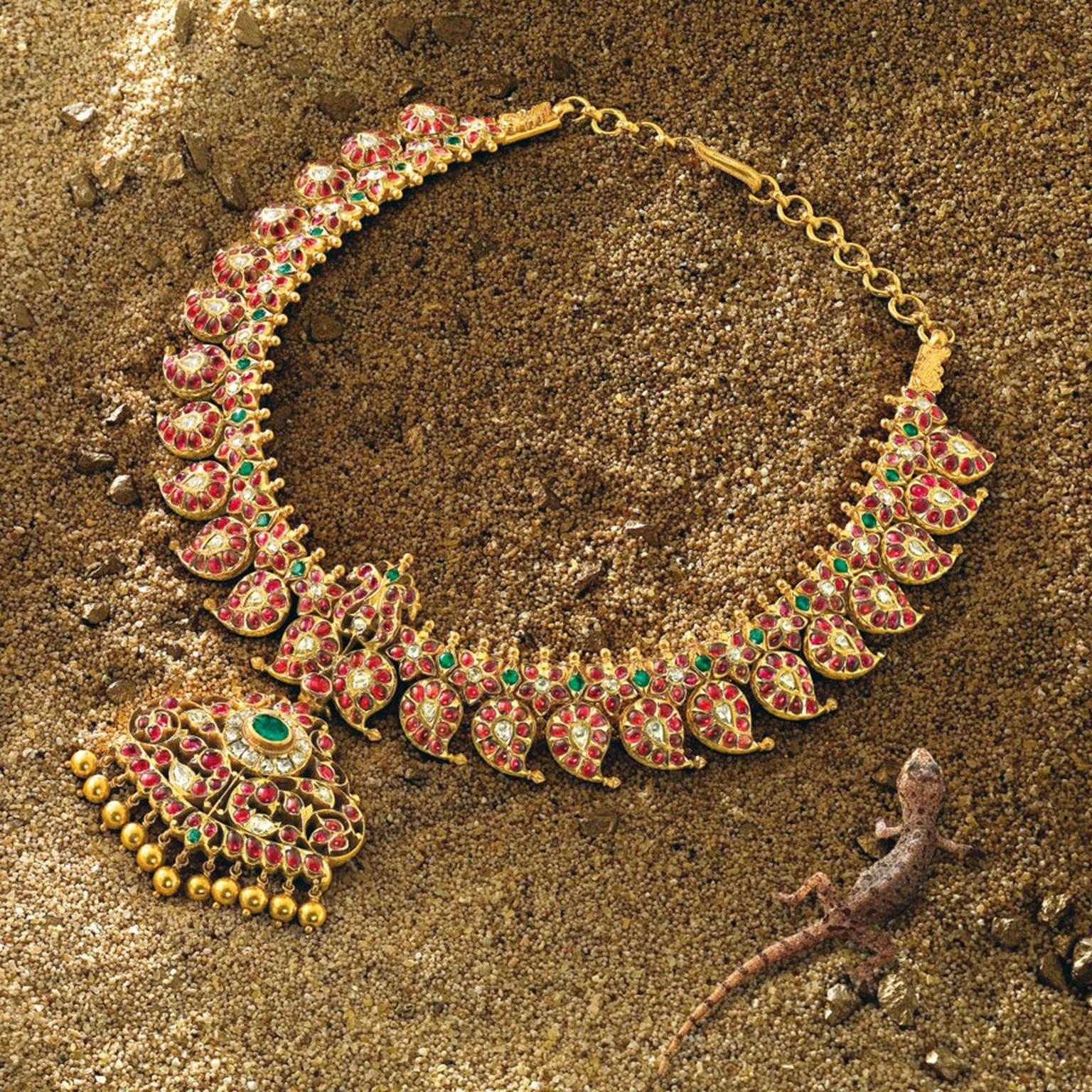 GANJAM 06 Necklace The Heritage Line Ganjam