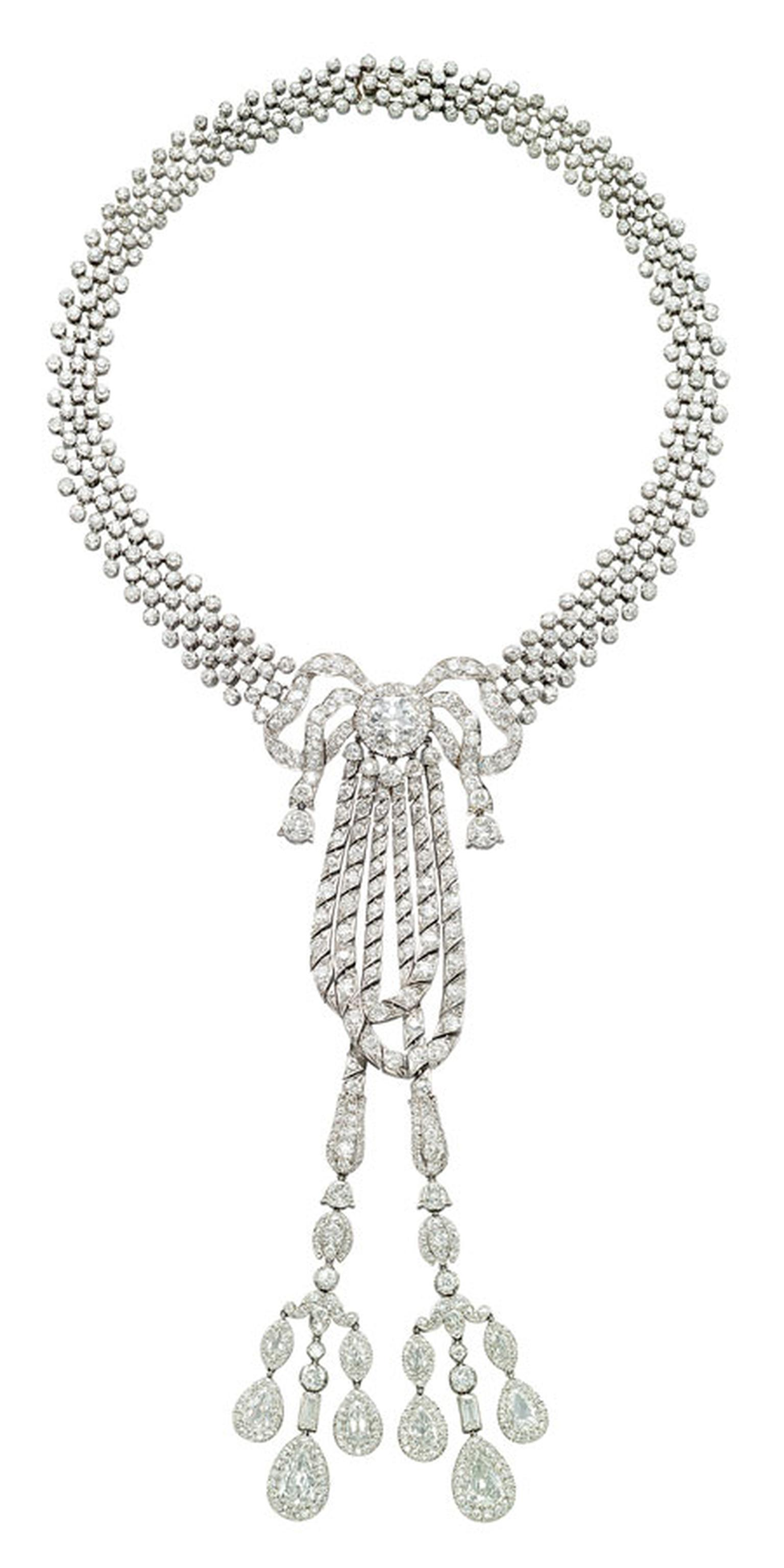 Christies A-Belle-Epoque-diamond-lavaliere-necklace,-by-Cartier,-1911