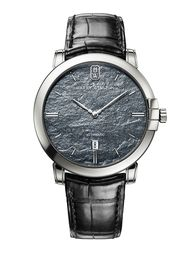New Midnight Monochrome watches by Harry Winston feature striking slate dials