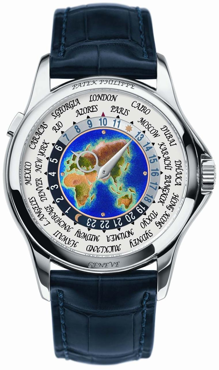 Patek Philippe World Time watch Ref. 5131 in white gold