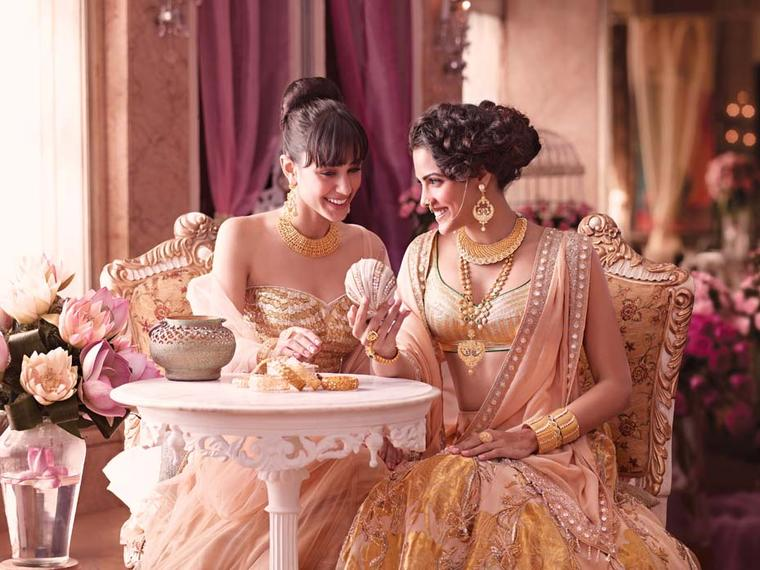 Tanishq the Indian wedding jeweller unveils the new Wedding Collection 2013