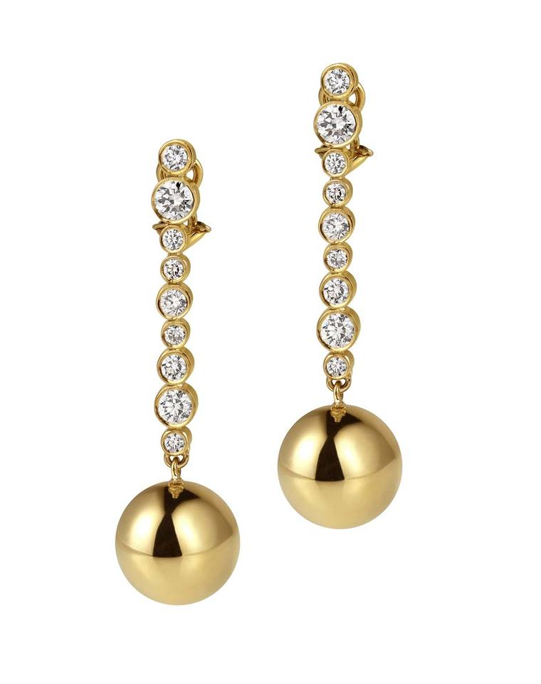 Elena Votsi Bubbles of Champagne earrings