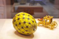 A new Faberge museum opens in the Shuvalov Palace in St Petersburg